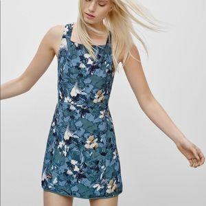 Aritzia Wilfred Floral Dress